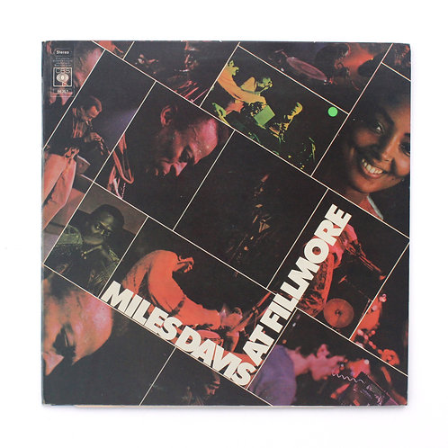 Miles Davis ‎| Miles Davis At Fillmore | UK 1971 Gate | Used Lp