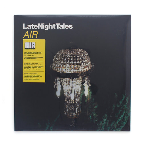 Air | V/A LateNightTales | Factory Sealed Lp