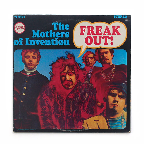 The Mothers Of Invention | Freak Out! | 1966 Rp | Used Lp