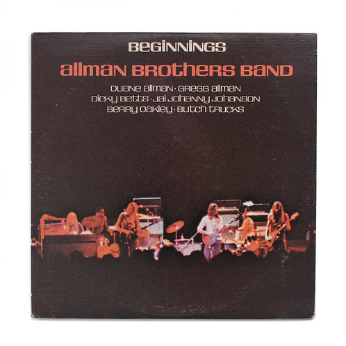 Allman Brothers Band | Beginnings |1974 | Used Lp
