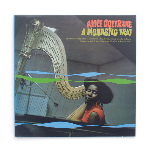 Alice Coltrane ‎| A Monastic Trio | Used LP
