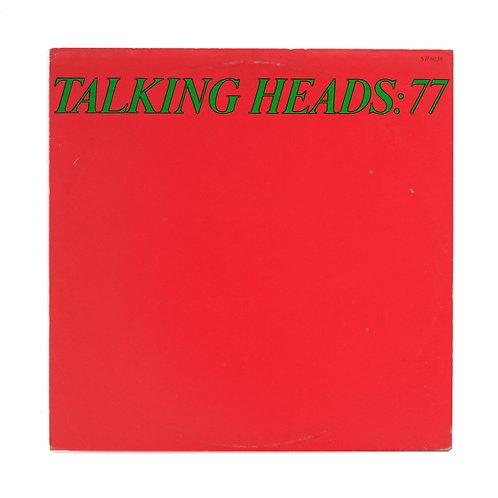 Talking Heads|Talking Heads: 77 | 1977 1st 6036 | Used Lp