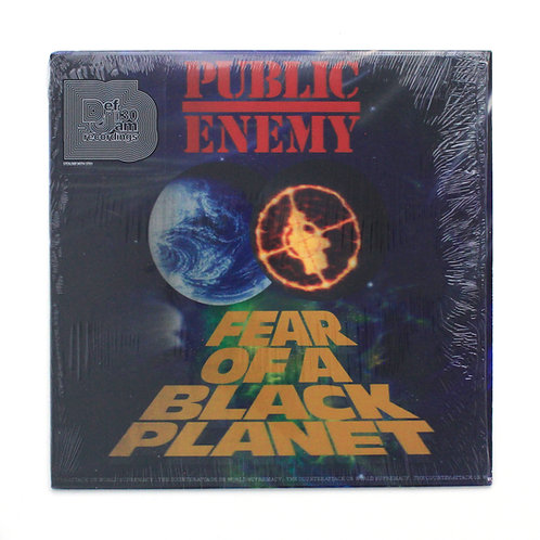 Public Enemy ‎| Fear Of A Black Planet | 2018 RP | M- Used LP