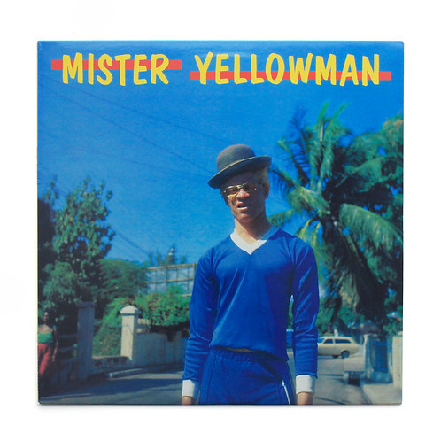 Yellowman ‎| Mister Yellowman | Blue colored | Used Lp