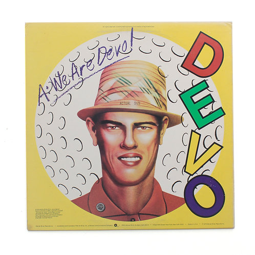 Devo|Q: Are We Not Men? A: We Are Devo! | 1978 |Used Lp