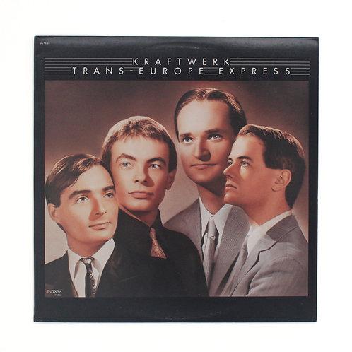 Kraftwerk| Trans-Europe Express  | Capitol 1993 | VG+/M- | Used LP