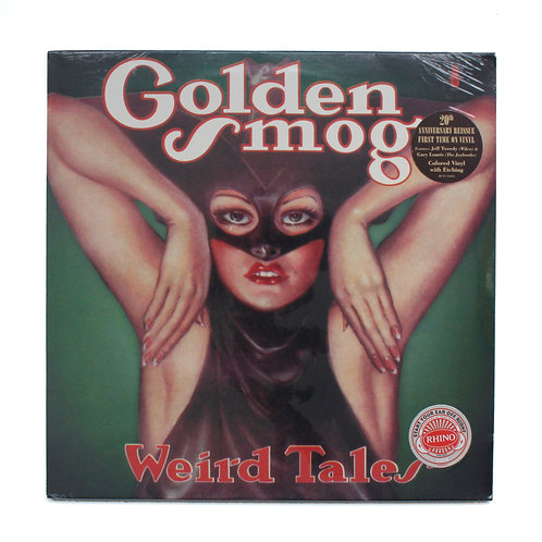 Golden Smog|Weird Tales | Green w/ Etch | Factory Sealed Lp