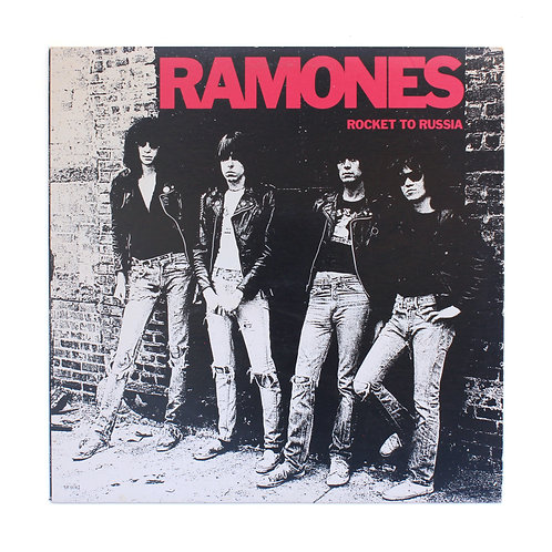 Ramones|Rocket To Russia | 1977 US Sire Warner | Used Lp