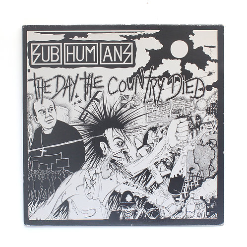 Subhumans ‎| The Day The Country Died | 1998 Gate | Used Lp