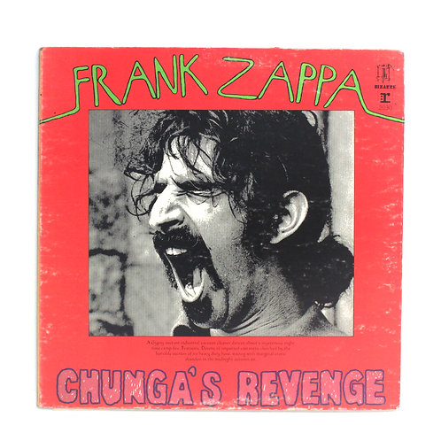 Frank Zappa|Chunga's Revenge | 1st 1970 | Used Lp