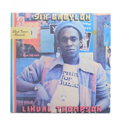 Linval Thompson|Six Babylon | US Rp | Used Lp