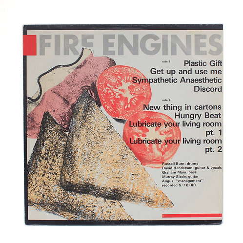 Fire Engines ‎| Lubricate Your Living Room | 1981 | Used Lp