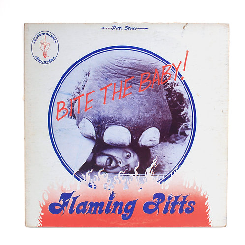 Flaming Pitts ‎| Bite The Baby | Private Press | Rare Used Lp