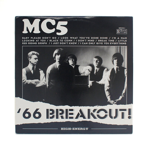 MC5 ‎| '66 Breakout! | Colored | Used Lp