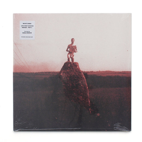 "Mount Kimbie–Love What Survives Remixes - Part 1 | 12"" | Factory Sealed"