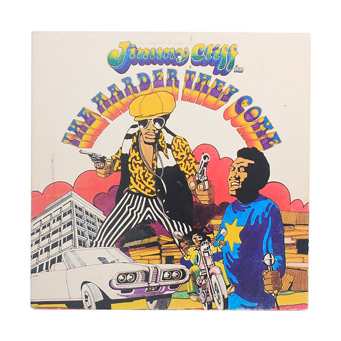 Jimmy Cliff / Various ‎| The Harder They Come | 1972 | Used Lp