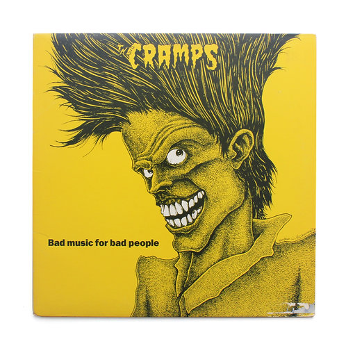 The Cramps ‎| Bad Music For Bad People | 1984 | Used Lp