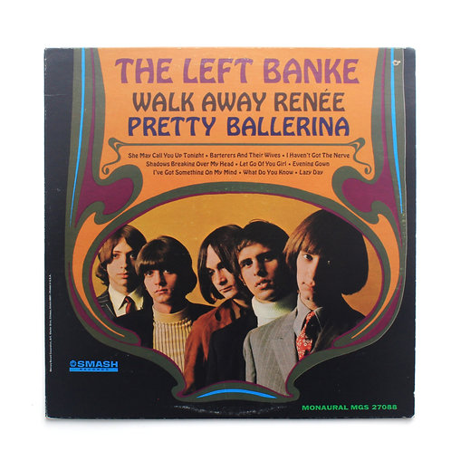 The Left Banke ‎| Walk Away Renée / Pretty Ballerina | Mono 1967 | Used Lp