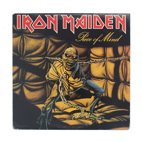 Iron Maiden|Piece Of Mind | 1983 | Used Lp