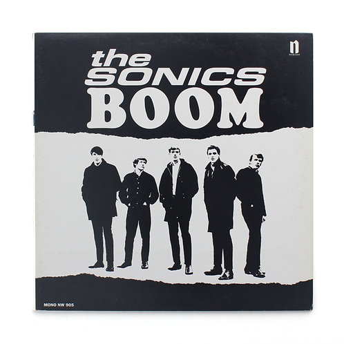 Sonics, The ‎| Boom | 1998 Norton | Gate | Used Lp