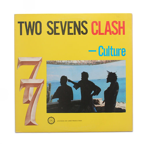Culture ‎| Two Sevens Clash | Jamaica 1977 OG | Used Lp
