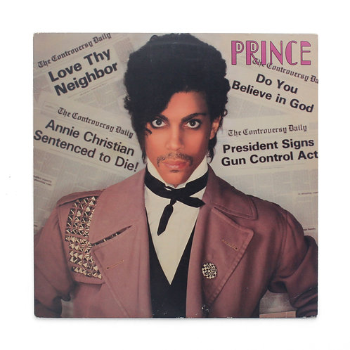 Prince ‎| Controversy | 1st 1981 w/poster | Used LP