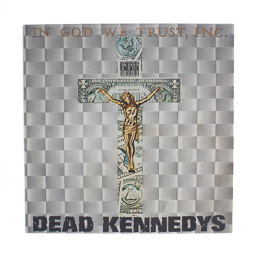 Dead Kennedys|In God We Trust, Inc. | 1st UK | Used Ep Lp