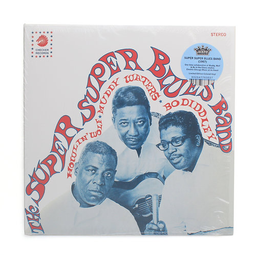 Howlin' Wolf,Muddy Waters&Bo Diddley| The Super Super Blues Band |  Used LP