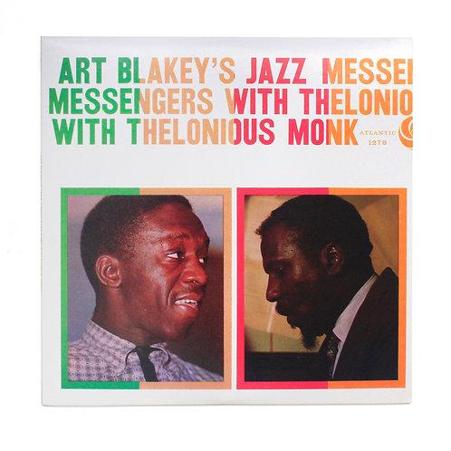 Art Blakey's Jazz MessengersWithThelonious Monk| 2016 180g | Used Lp