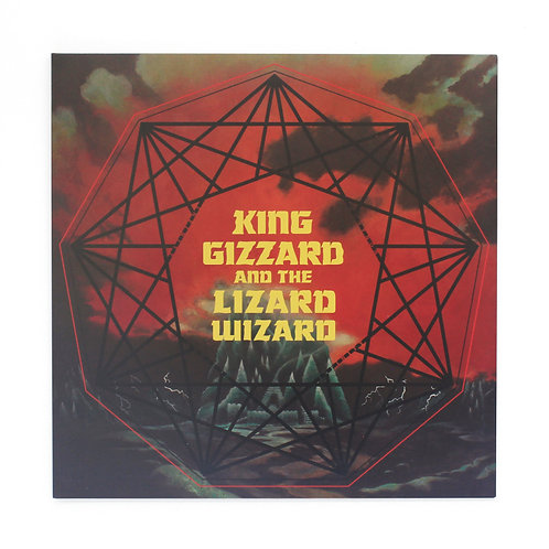 King Gizzard And The Lizard Wizard ‎| Nonagon Infinity |1st US Green | Used Lp
