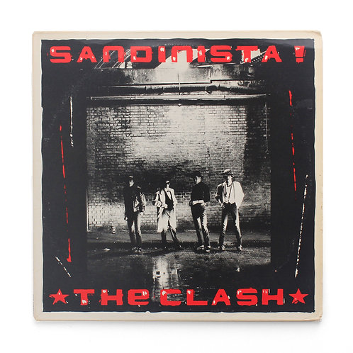 Clash, The ‎| Sandinista! | FSLN 1, Epic ‎– E3X 37037 | 1980 3XLP | Used LP