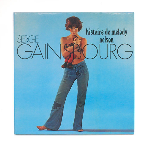 Serge Gainsbourg ‎| Histoire De Melody Nelson | 2009 | Used Lp