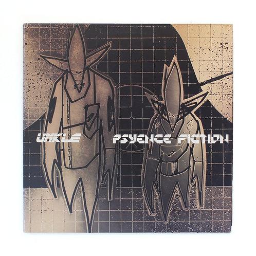UNKLE Psyence Fiction   314-540-970-1 -White Label Rp Gate 2XLP   Used Lp