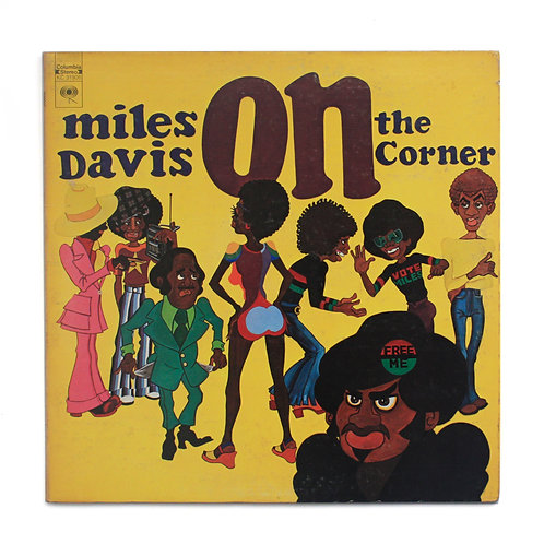 Miles Davis ‎| On The Corner | 1972 1st | Used LP