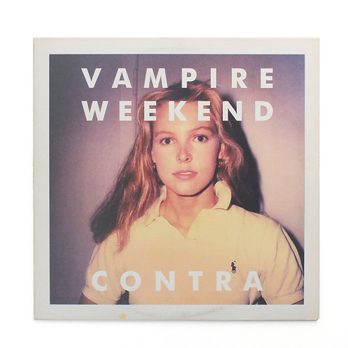 Vampire Weekend ‎| Contra | 2010 XL LP 429 180g | Used Lp