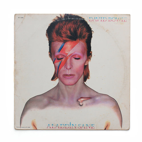 David Bowie ‎| Aladdin Sane | 1980 US | Used Lp
