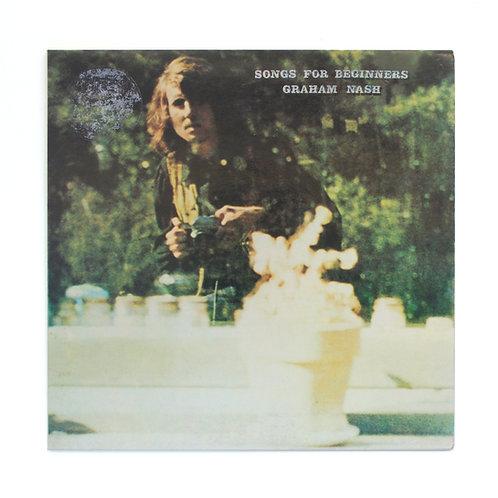Graham Nash|Songs For Beginners | 1971 German | Gate 180