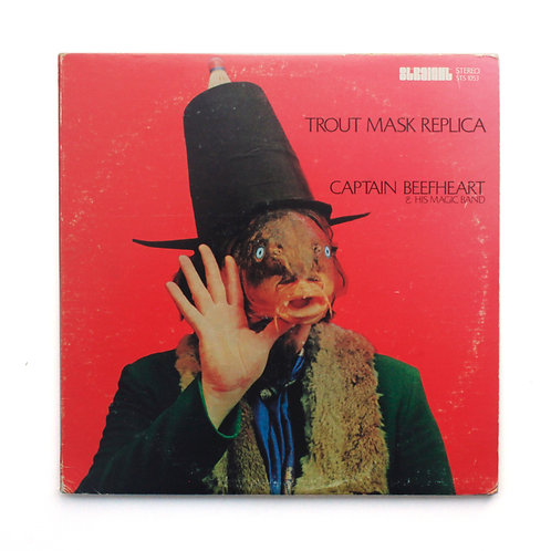 Captain Beefheart & His Magic Band ‎– Trout Mask Replica | 1969 Terre | VG/VG+