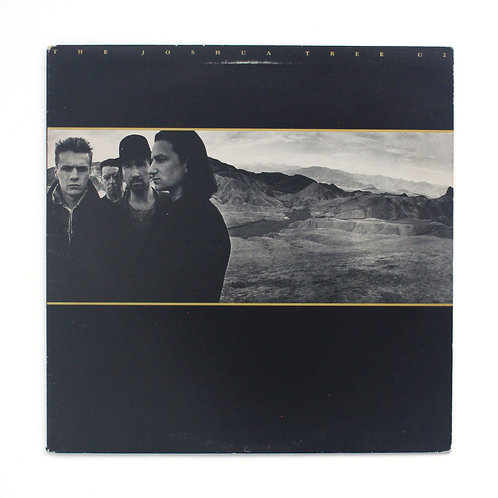 U2  | The Joshua Tree |  1987 Island | Vg+/Ex