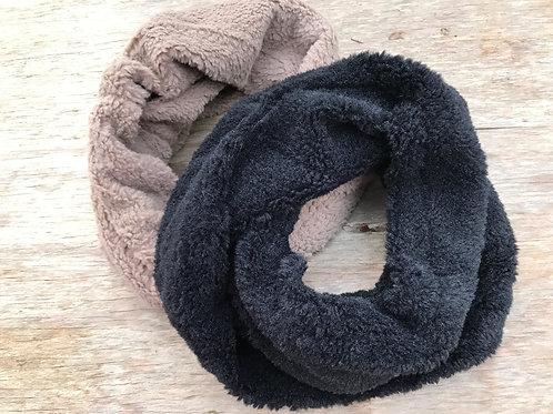 Cowl neck super soft scarf
