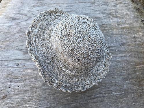Scrunchable hemp hat