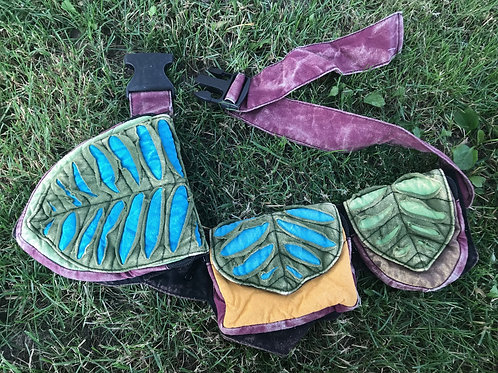 Fairy leaf fanny pack