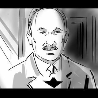 Storyboard pro film Masaryk