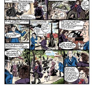 Beethoven a Goethe v Teplicích