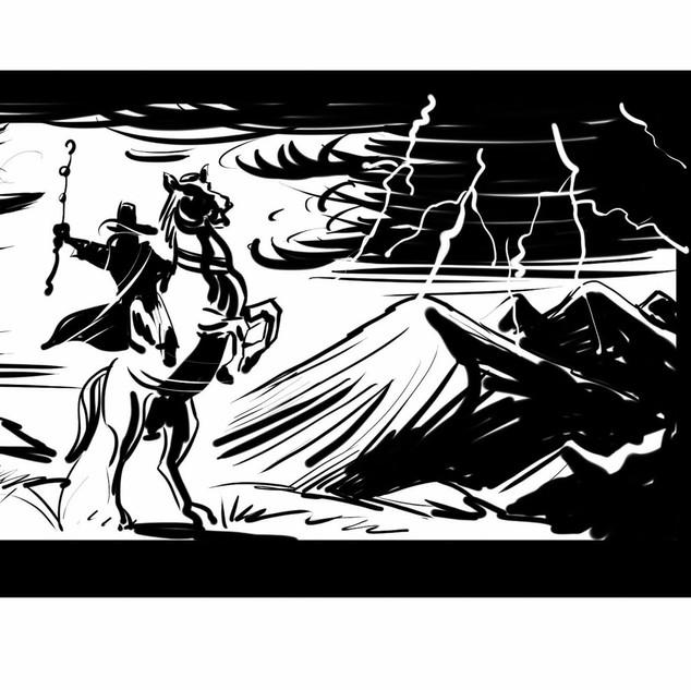 Petr-Herold_Film-storyboard_Korunni-prin
