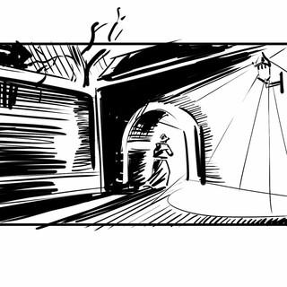 Storyboard pro film Wilsonov