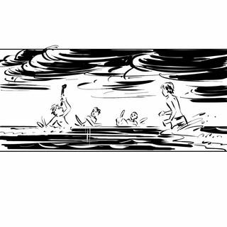 Storyboard pro film Krásno