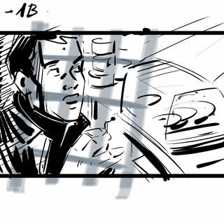 Storyboard pro film Rudý kapitán