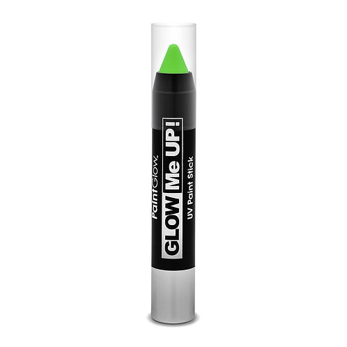 PaintGlow UV Neon Face & Body Paint Stick- GREEN