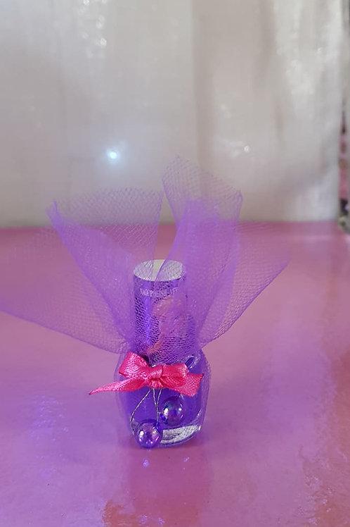 Disney Frozen Anna Delux nail polish - colour shimmer purple